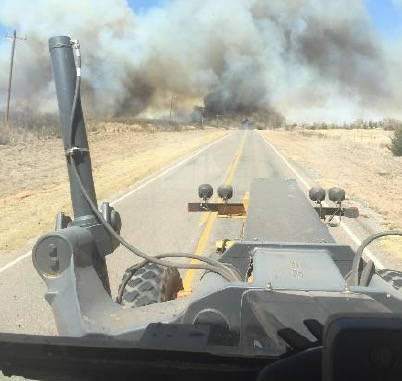 Shaw Fire grader fatality