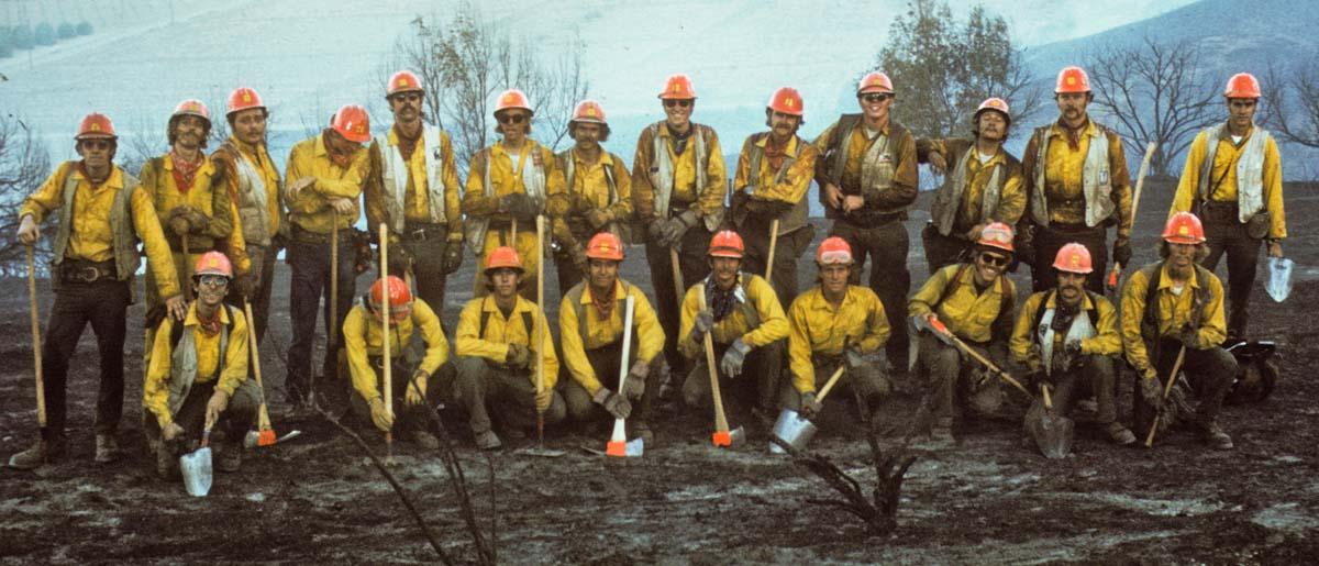 1972 El Cariso Hotshot crew
