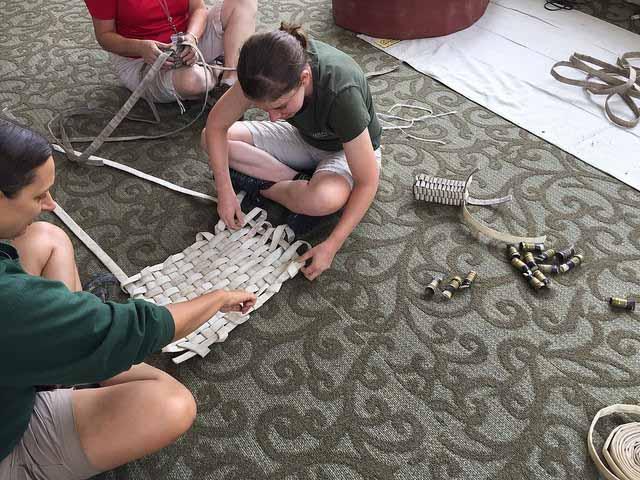 fire hose animal enrichment