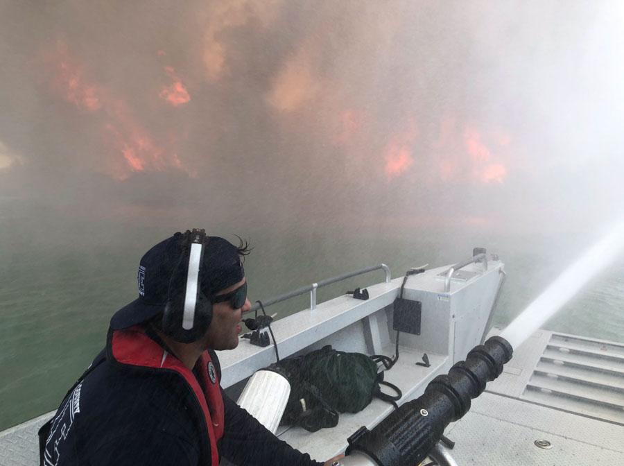 Beach Fire Lake Havasu City