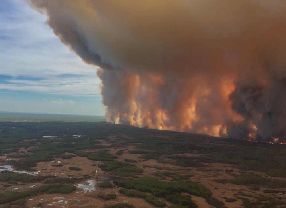 Chuckegg Creek Fire Alberta High Level