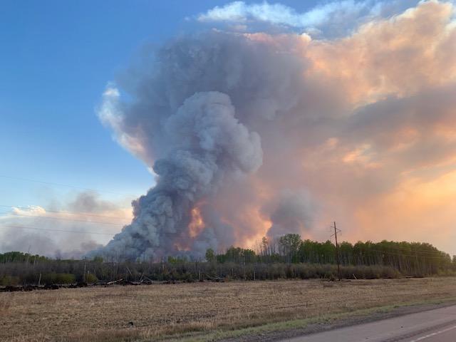 firing operation burnout protect High Level Alberta Chuckegg Fire