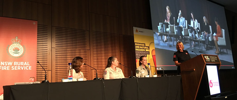 women in wildland fire panel discussion