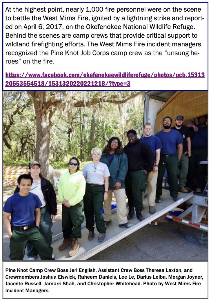 Job Corps camp crew