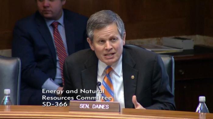 Senator Steve Daines of Montana Job Corps