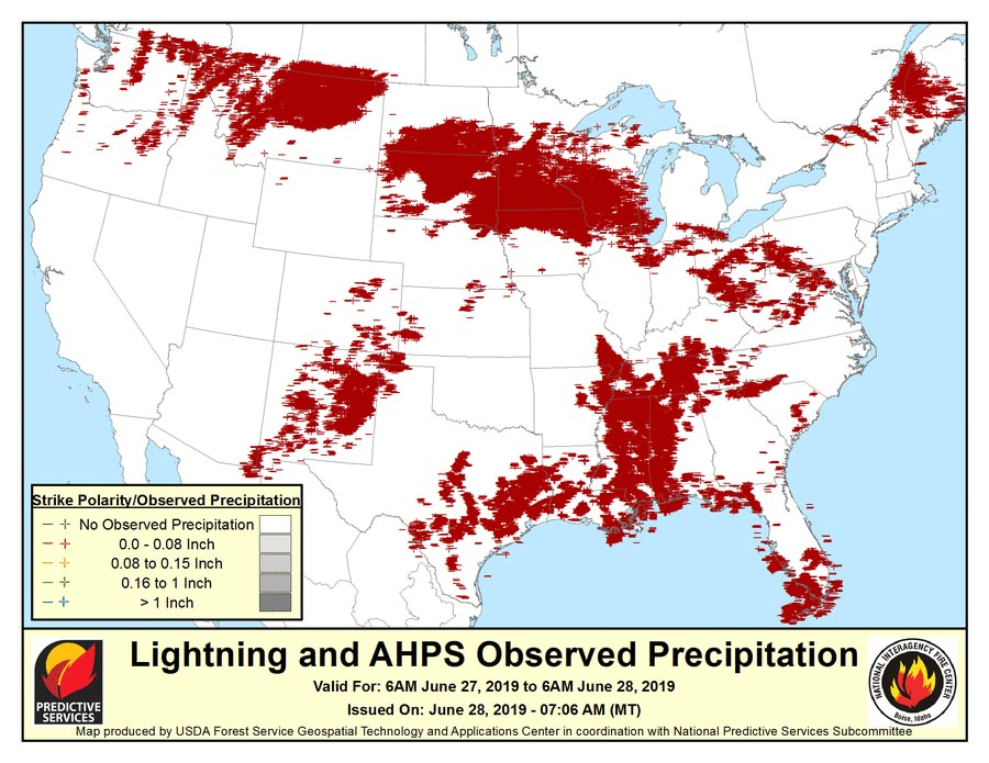 lightning map montana washington idaho oregon