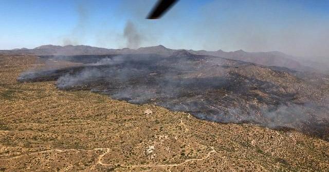 Mountain Fire, June 8, 2019