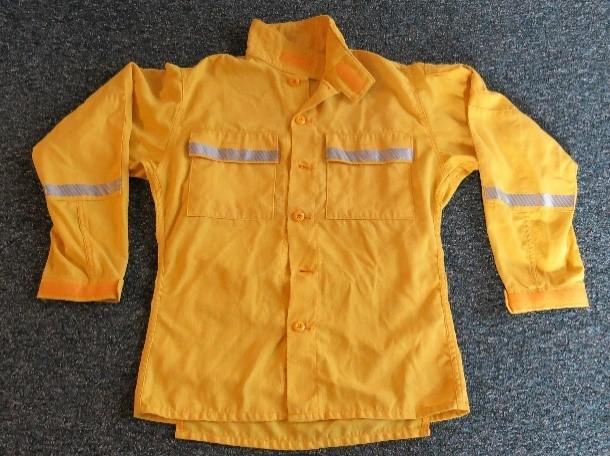 new wildland firefighter shirt design striping