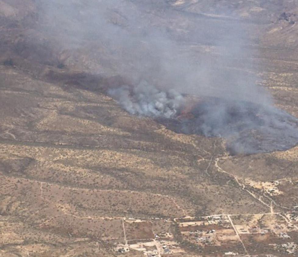 Central Fire Arizona