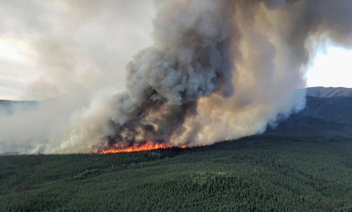 Alaska Garnet Creek Fire