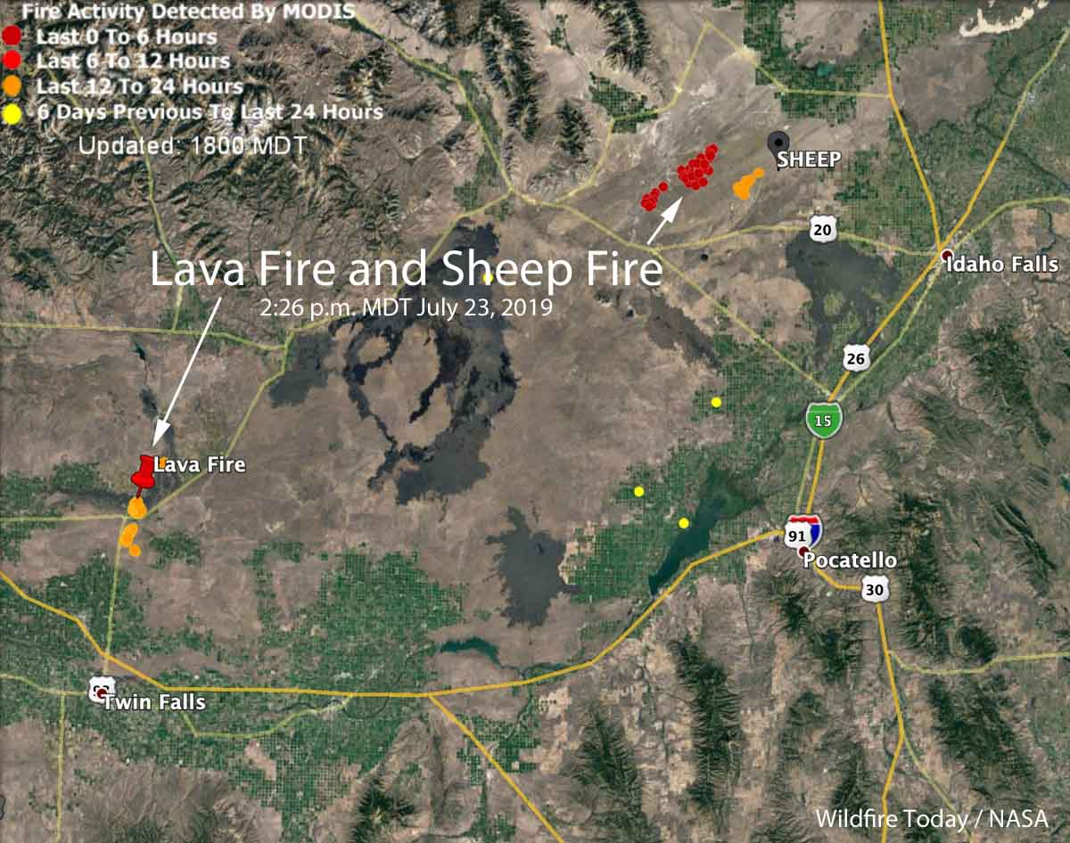 Lava Fire Sheep Fire