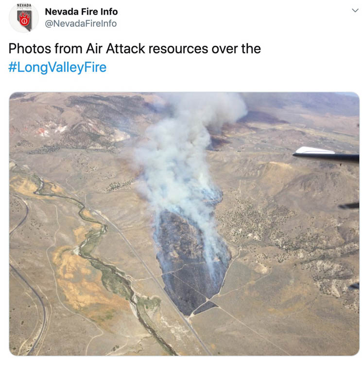Long Valley Fire