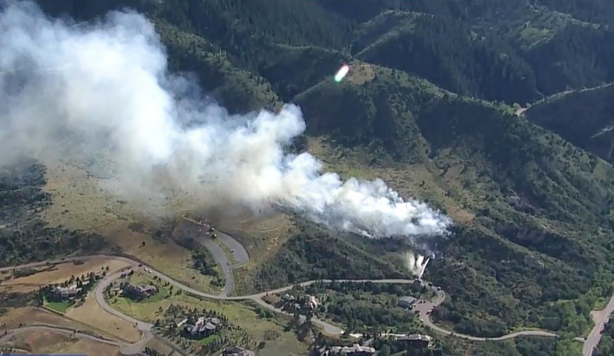 Deer Creek Canyon Park Fire Colorado