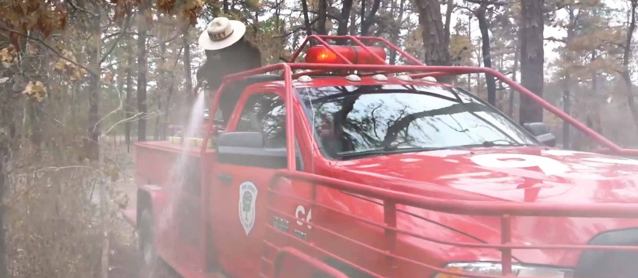 Smokey Bear video New Jersey
