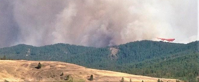 Williams Flats Fire Washington