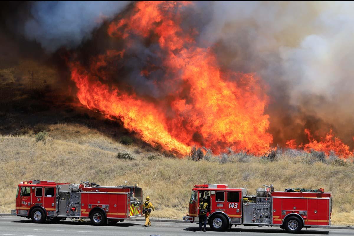 Jeff Zimmerman fire southern California