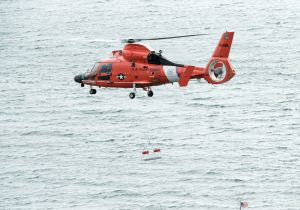 MH-65 Dolphin helicopter Coast Guard