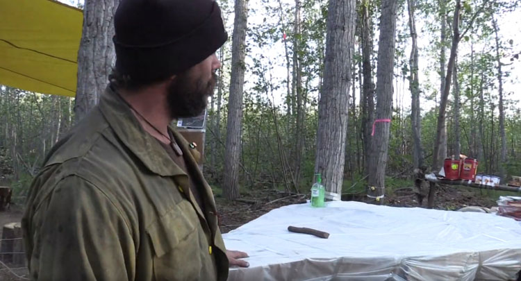 Chena Hotshots fire camp Alaska wildfire
