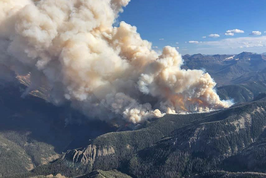 Fishhawk Fire Cody Yellowstone