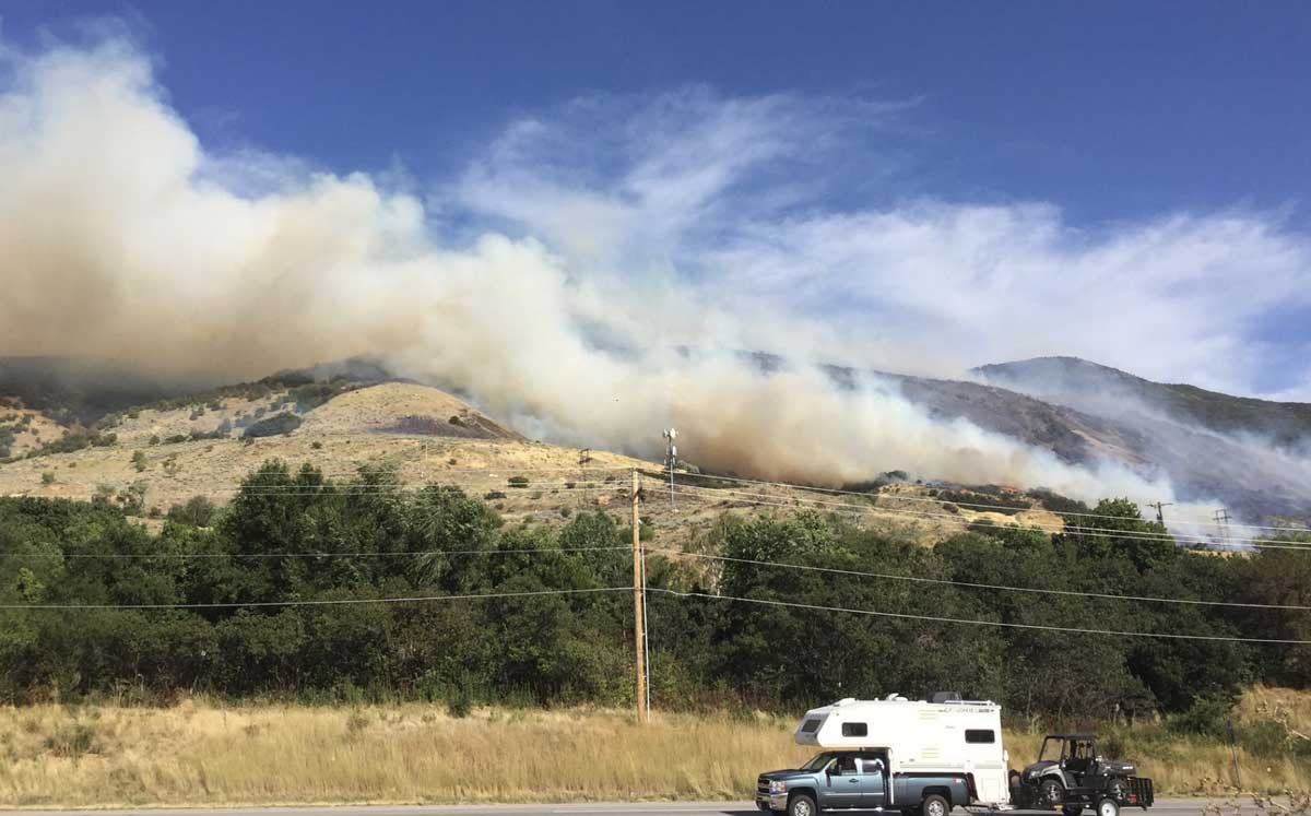 Francis Fire Utah