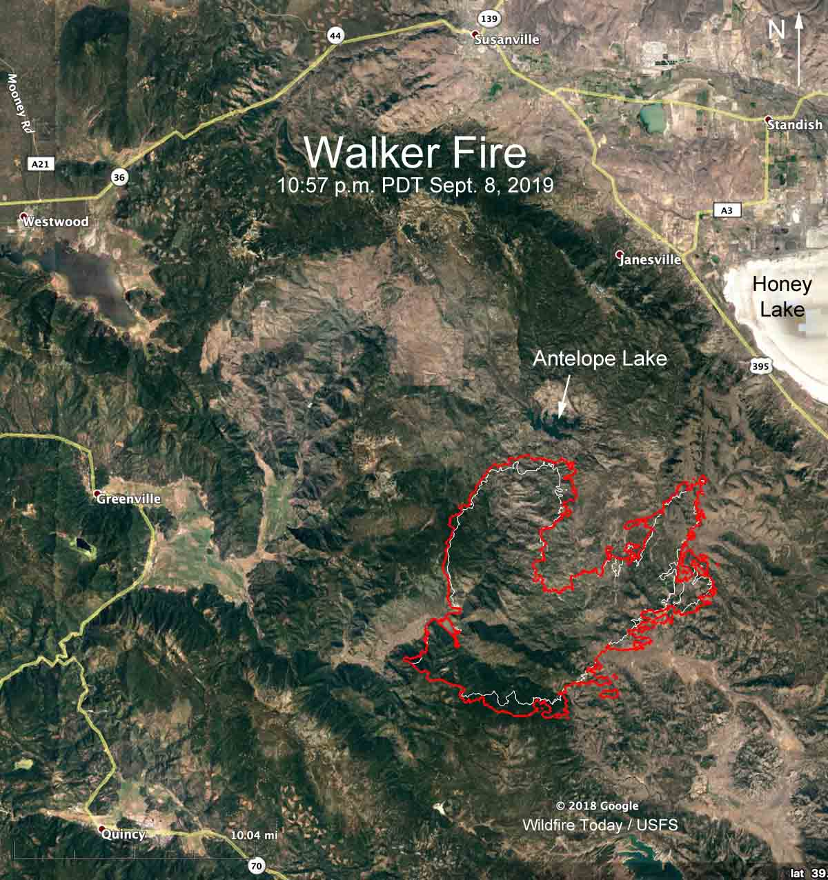 Walker Fire Susanville California