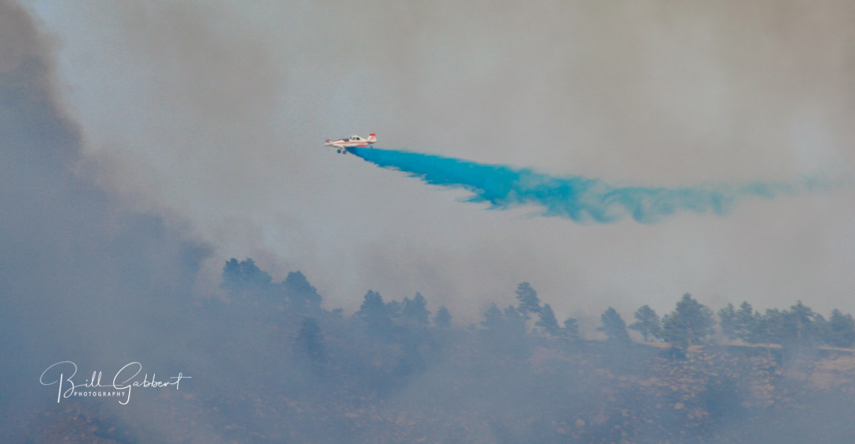 blue gel air tanker fire retardant