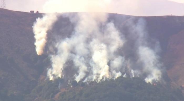 Fire Brisbane, California