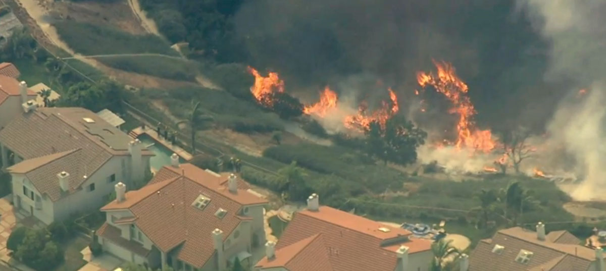 Saddle Ridge Fire Los Angeles