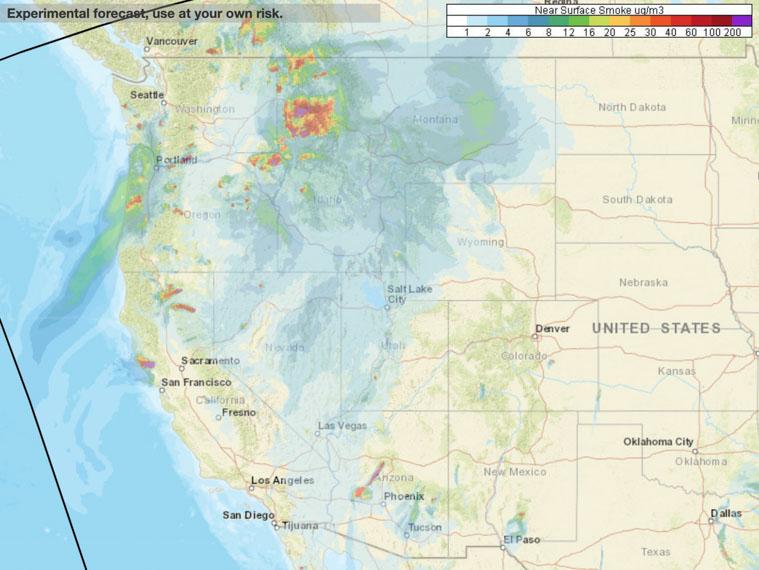Smoke affects northwest U.S. - Wildfire Today