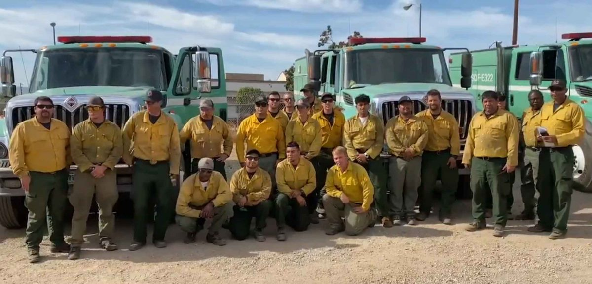 USFS firefighters save life of person suffering cardiac event