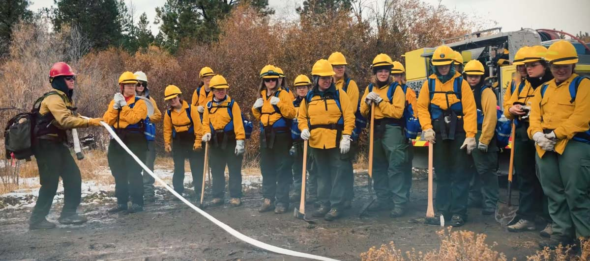 BLM's all-female fire camp