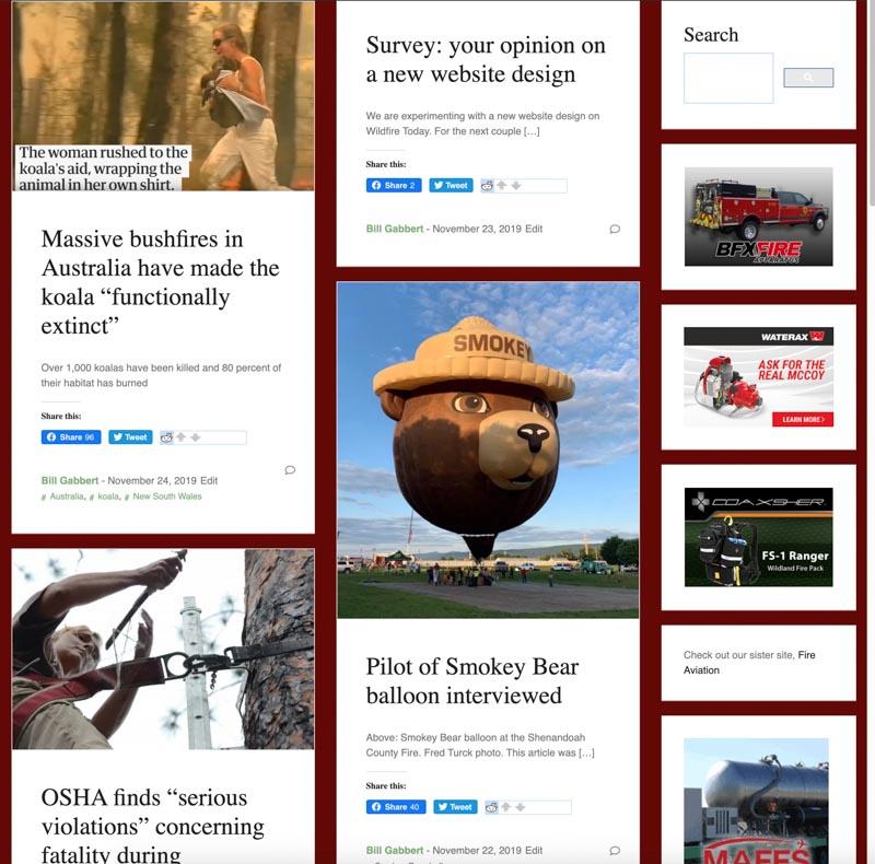 home page alternative