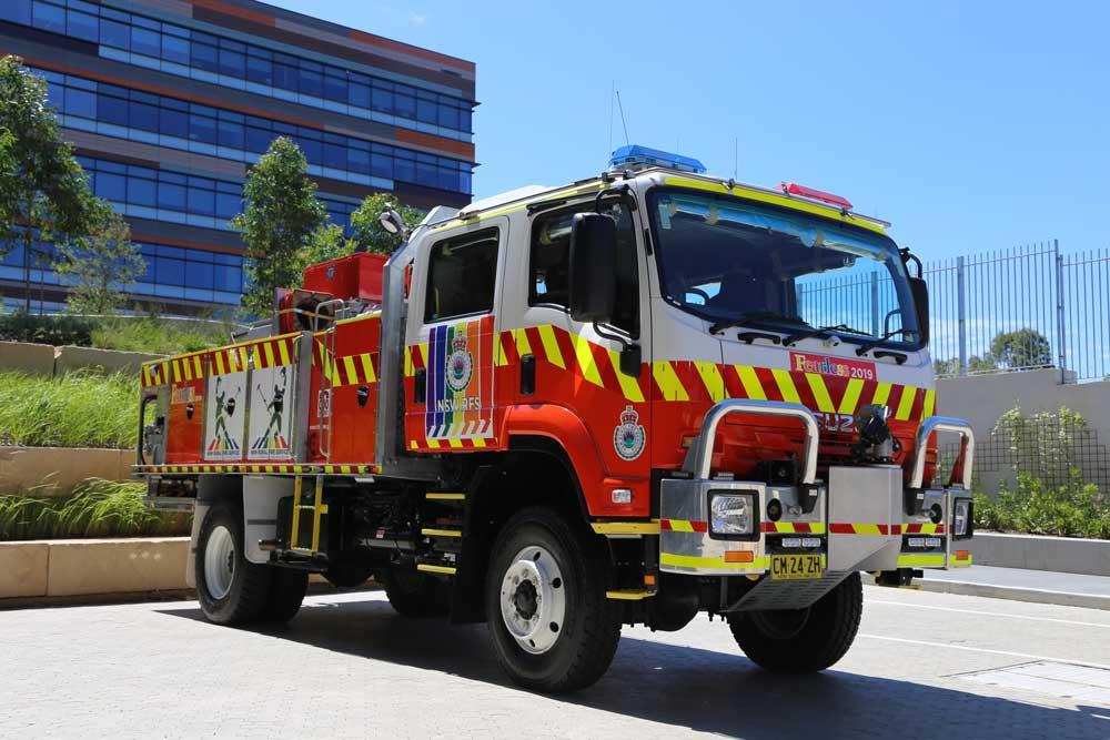 NSW RFS engine truck rollover lodd