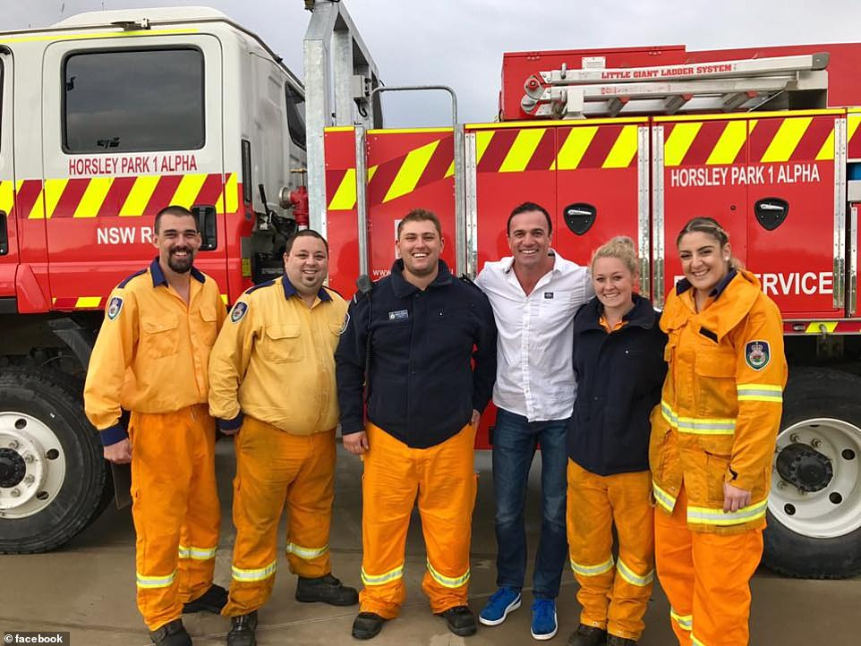 Andrew O'Dwyer fire truck
