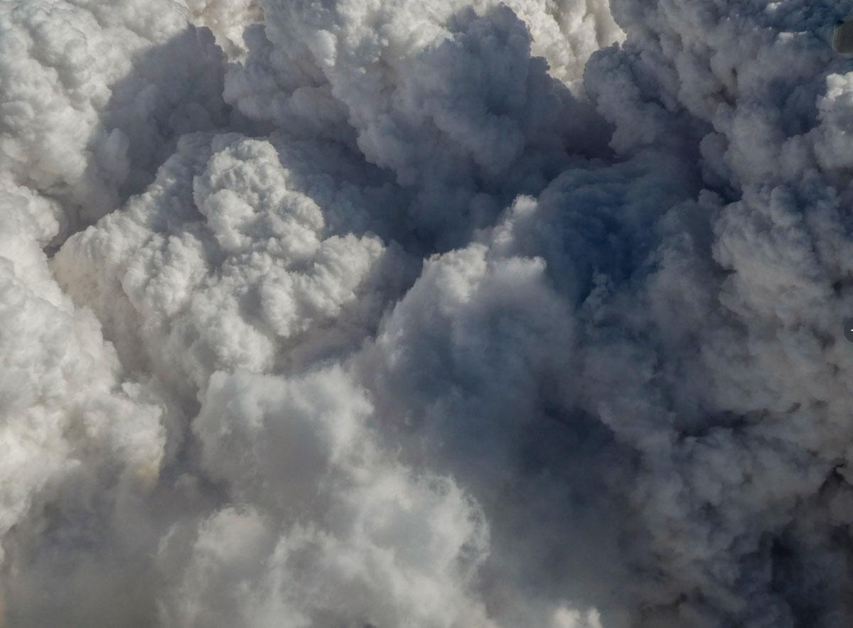 smoke pyrocumulus bushfires Australia