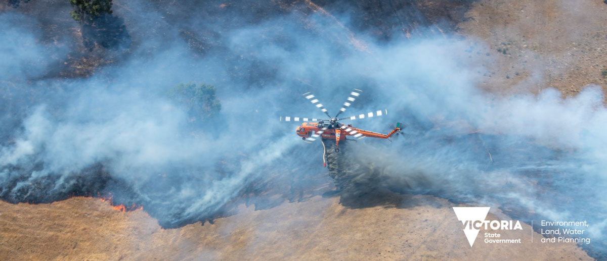 fires in East Gippsland Australia