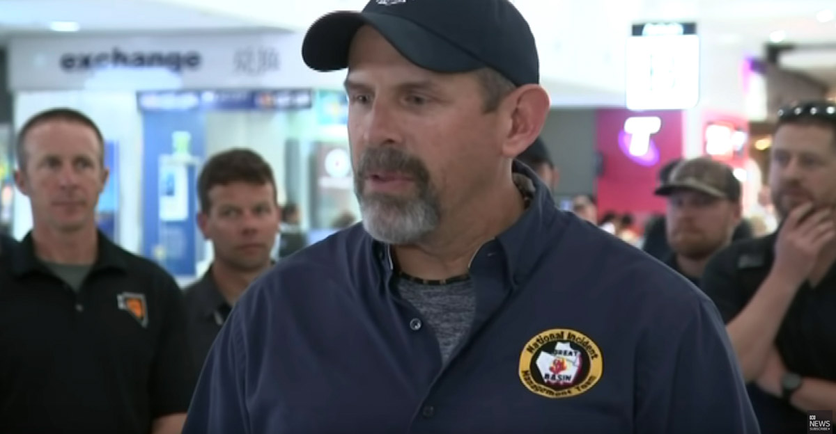 Firefighters from the U.S. arrive in Australia