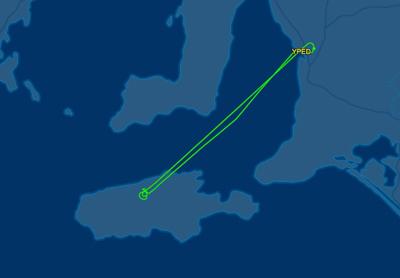 Bomber 137, a Boeing 737 dropped Ravine Fire Kangaroo Island