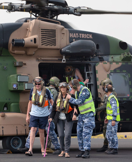 Department of Defence Australia helicopter rescue