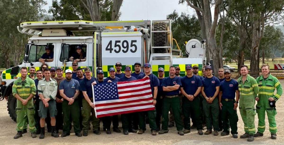 20-person hand crew Angeles National Forest Australia