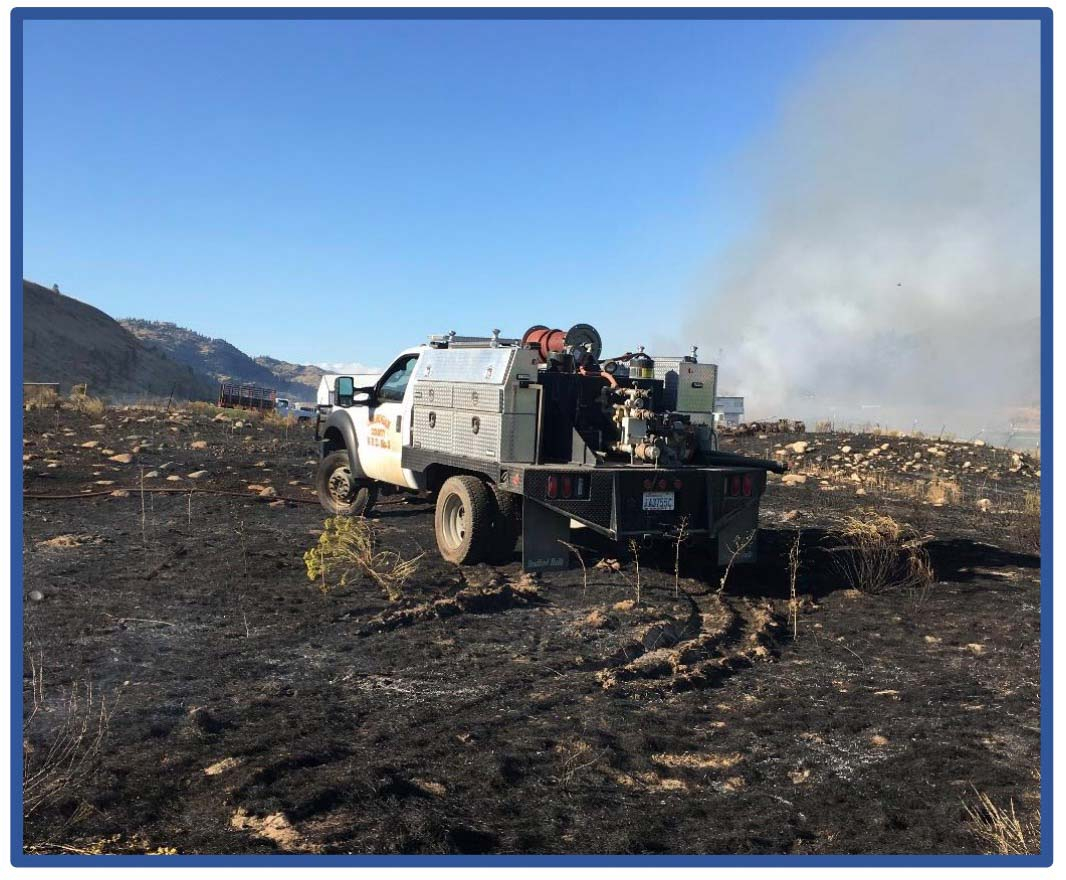 Grand Coulee Fire LODD Washington