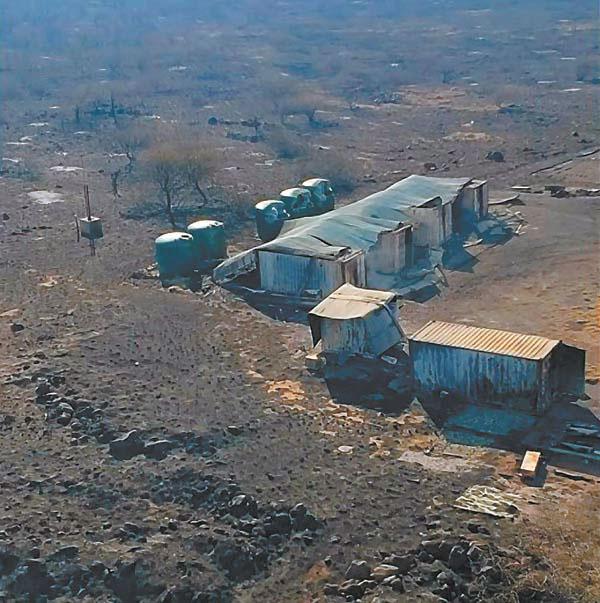 Kaho'olawe Island fire