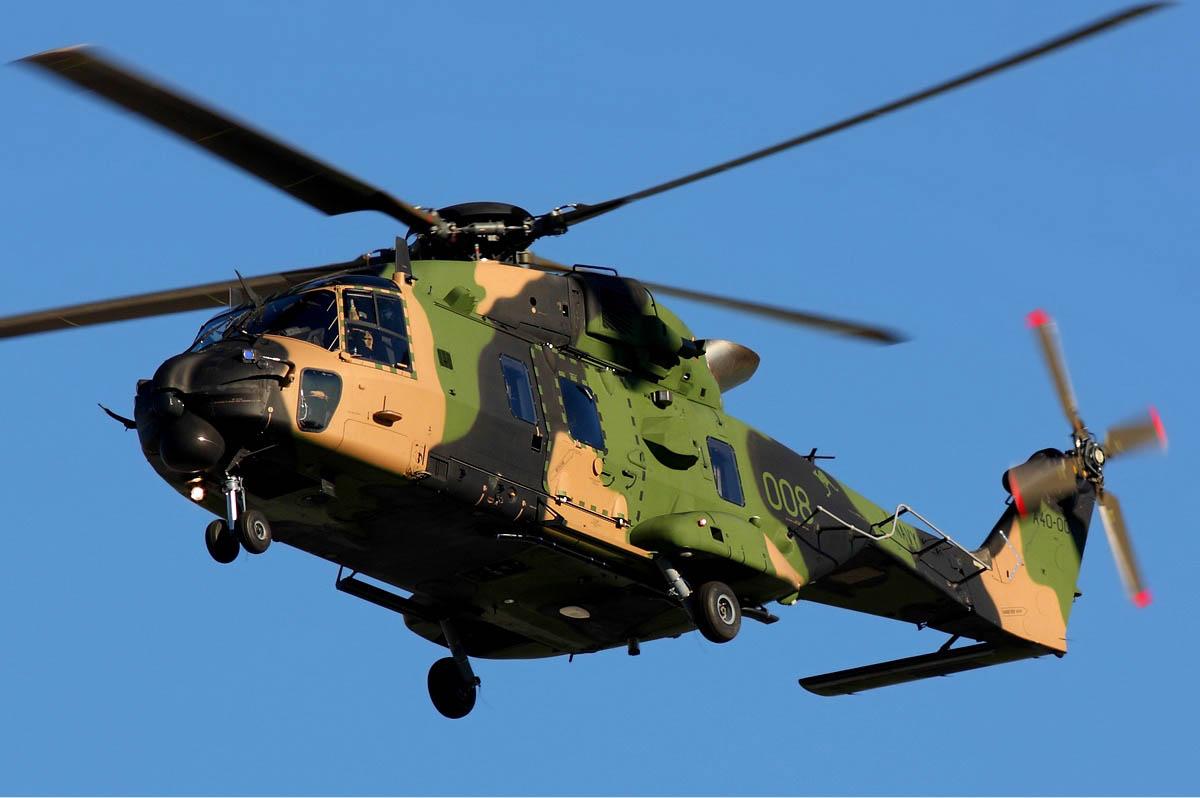 Australian Navy NHI MRH-90 Helicopter