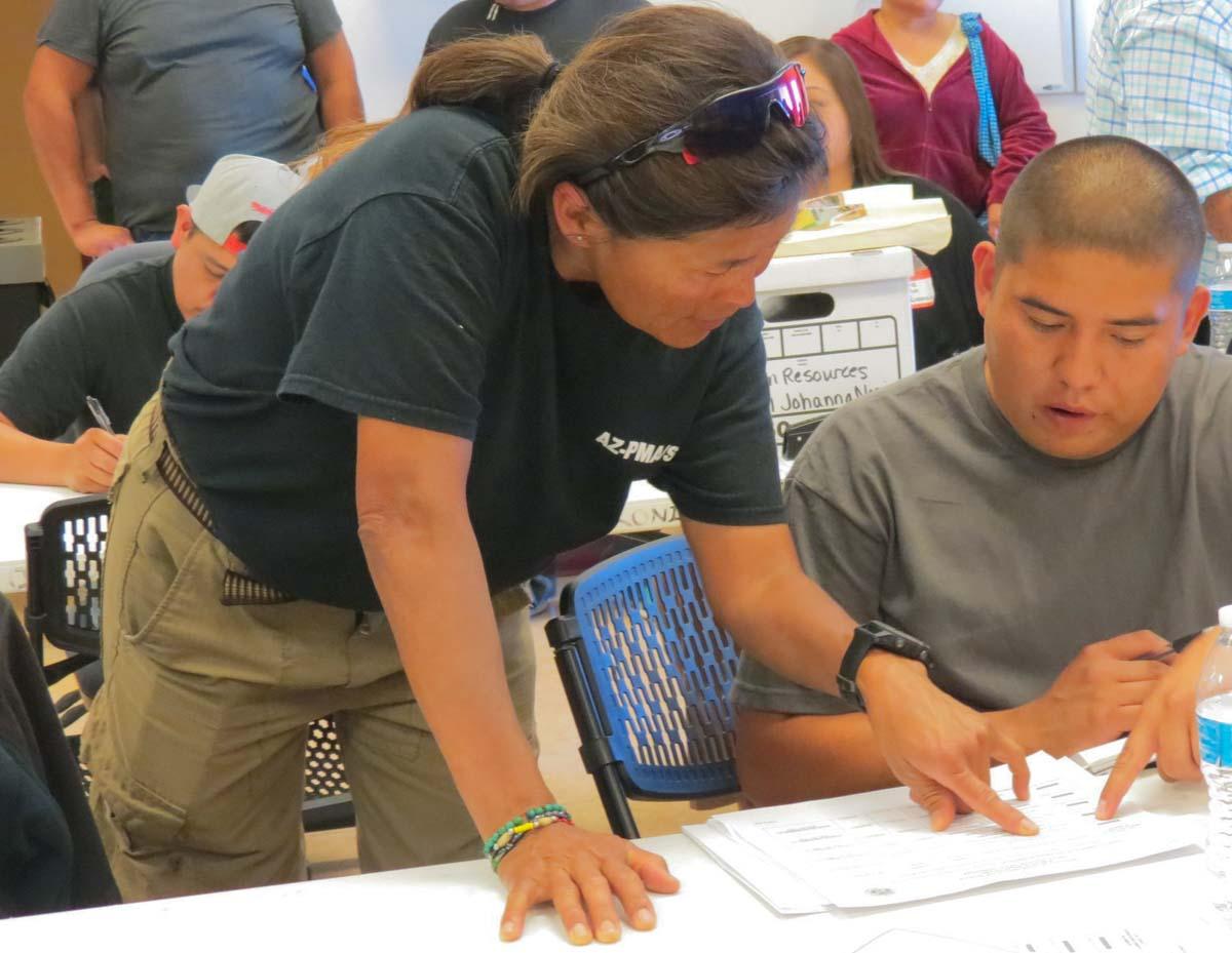 Bureau of Indian Affairs Incident Management Team fire