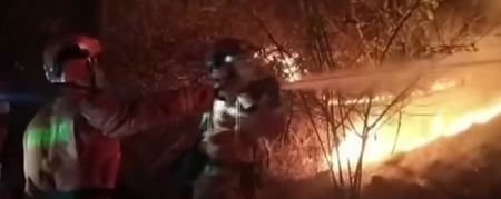 firefighters killed china wildfire