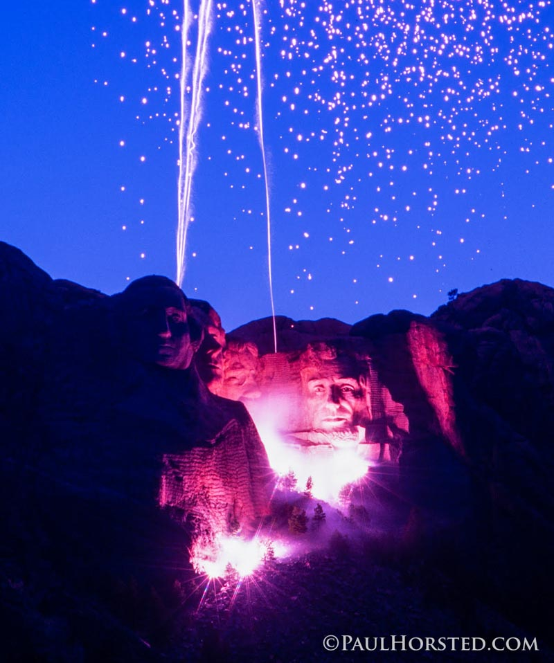 Mount Rushmore Fireworks wildfires fires fire