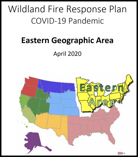 Eastern Area Pandemic Plan COVID-19 wildfires