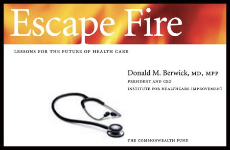 Escape Fire Don Berwick