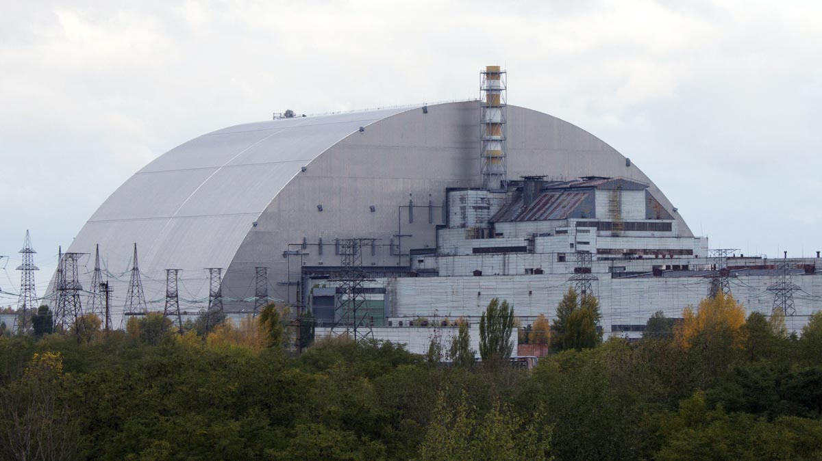 New Safe Containment structure Chernobyl