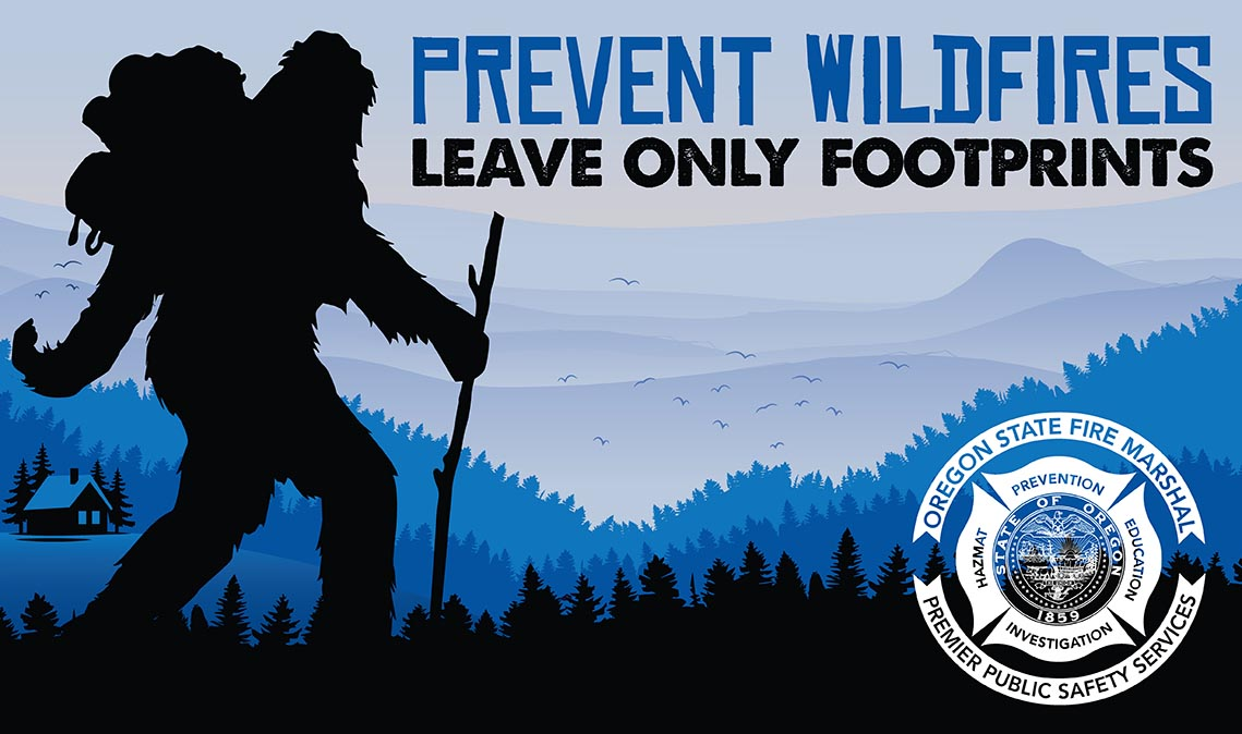 Bigfoot wildfire prevention
